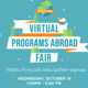 Programs Abroad (Pre) Fair Info Session: Study Abroad on a Budget: How to Choose an Affordable Program