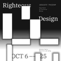 Exhibition | Furniture Design graduate students
