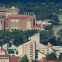 Engineering buildings on CU Boulder campus