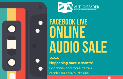 Online Used Audio Equipment & Media Sale to benefit Audio-Reader