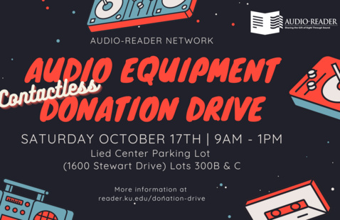 Audio Equipment Donation Drive