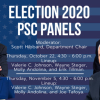Political Science Department presents Election 2020