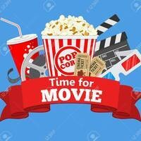 Popcorn, soda, movie tickets and reel