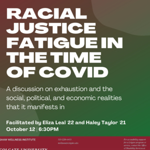 Racial Justice Fatigue in the Time of COVID