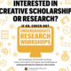 Summer Research Experiences Off-Campus – Application Tips