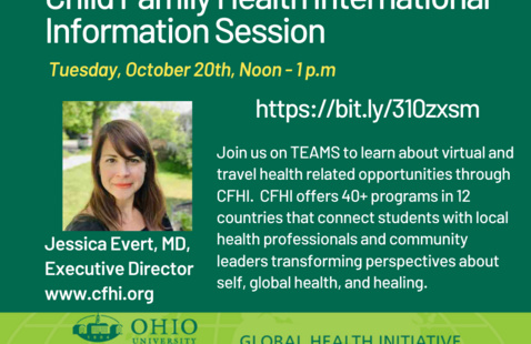 Child Family Health International | Information Session