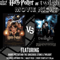 Outdoor Movie Night Featuring ''Harry Potter and the Sorcerer's Stone'' and ''Twilight''