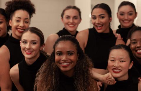 Dance Program Students