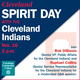 Cleveland Spirit Days with the Cleveland Indians