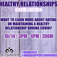 Workshop: Healthy Relationships COVID Edition