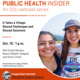 Public Health Insider | Shared challenges and shared solutions