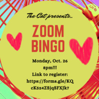 Zoom Bingo at the Cat