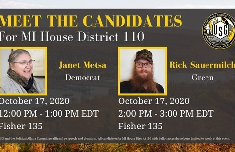 MI House District 110, Meet the Candidates (Rick Sauermilch)