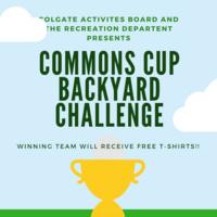 Commons Cup BackYard Challenge
