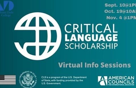 Critical Language Scholarship Program Virtual Info Session