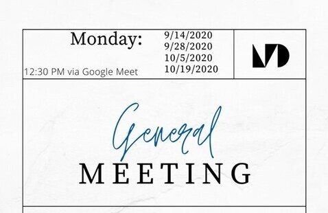 Student Government Association General Session Meeting  (Cancelled)
