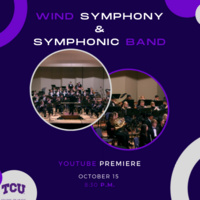 Ensemble Concert Series: TCU Wind Symphony and Symphonic Band