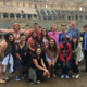 Students in the Roman Coliseum