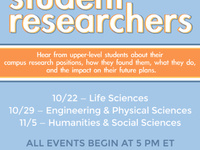 Meet Undergraduate Student Researchers in Engineering and Physical Sciences