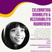 Celebrating Disability and Accessibility Awareness