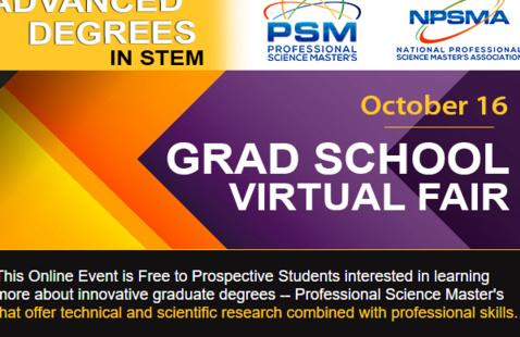 Careerpalooza: Professional Science Master's Virtual Fair