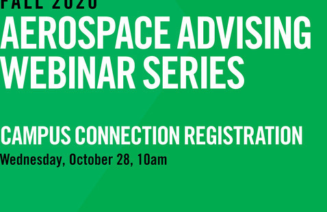 Aerospace Advising Webinar Series | Campus Connection Registration
