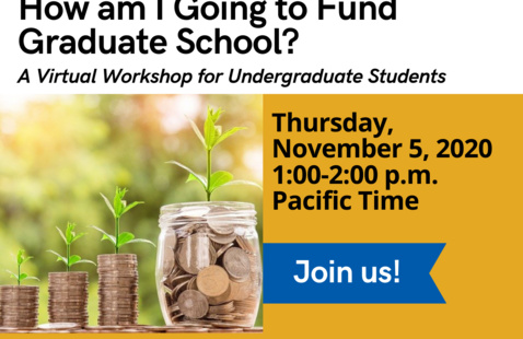 How Am I Going To Fund Graduate School? Flyer