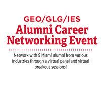 GLG/GEO/IES Alumni Networking Event
