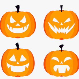 Make your own Jack-O-Lantern cut-out