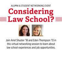 Considering Law School? Alumni & Student Networking Event