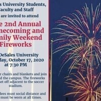 2nd Annual Homecoming and Family Weekend Fireworks