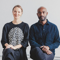 Artist talk   AD—WO (Emanuel Admassu & Jen Wood)