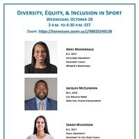Diversity, Equity, & Inclusion in Sport