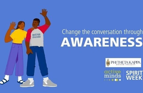 PTK & Active Minds Spirit week - Day 1: Awareness