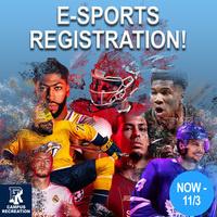 E-sports registration