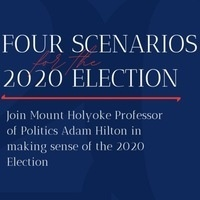 Four Scenarios for the 2020 Election
