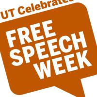 Free Speech Week in speech bubble