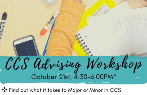 CCS Fall 2020 Advising Workshop