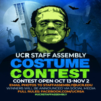 UCR Staff Assembly Halloween Costume Contest