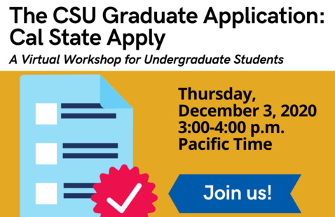 Cal State Apply Workshop Flyer