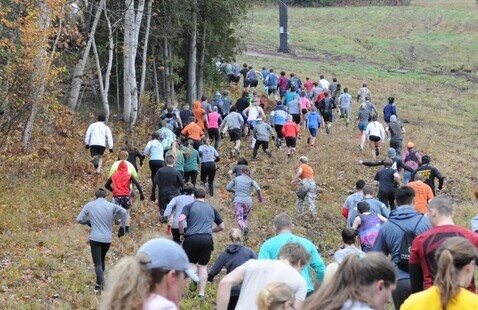 Husky Alpine Mountain Run (HAMR) - Army ROTC Event
