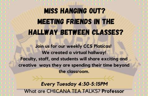 CCS Weekly Pláticas