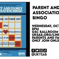 Parent and Family Association Bingo