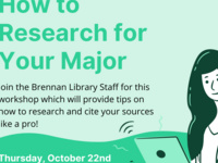 How to Research for Your Major: FYSS Workshop October 22nd 2-3PM
