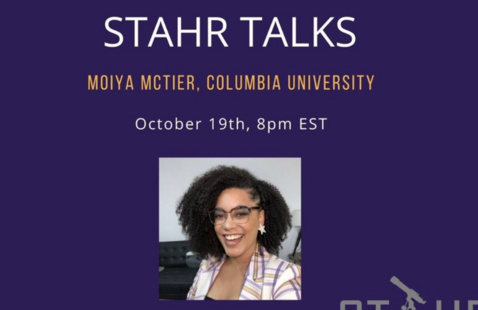STAHR Talks - Moiya McTier