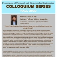 Fall Seminar Series | Chemical and Biomolecular Engineering