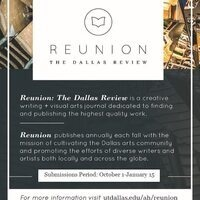 Call for Submissions - Reunion: The Dallas Review