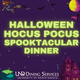 halloween hocus pocus spooktacular dinner