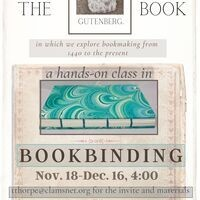 Bookbinding by Hand: A Class in Five Sessions