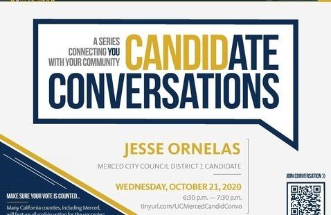 Candidate Conversations - Election 2020 - City Council Candidate Jesse Ornelas